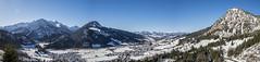 Paradise on the edge of the Alps (tom22_allgaeu) Tags: panorama mountains alps germany bayern deutschland bavaria nikon berge alpen tamron allgu freihand allgaeu hindelang d3200 allgueralpen
