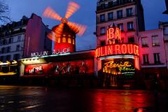 Moulin Rouge, Montmartre Paris, 2016 (_Klickwurm_) Tags: paris rot night mühle frankreich europa theater nacht vivid nightlife moulinrouge montmatre reise nachtleben rotlicht 2016 klickwurm