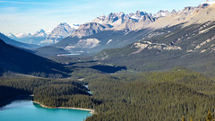 Peyto Lake from Bow Summit (weber_sd) Tags: ca canada mountains alberta banffnationalpark peytolake icefieldsparkway canadianrockies 2015 bowsummit improvementdistrictno9