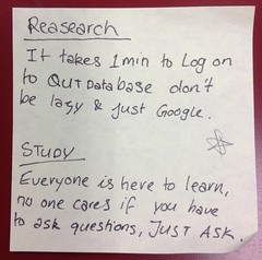Research and study (thompsoe) Tags: payitforward uniadvice advicefromstudents
