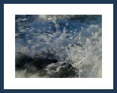 Water in motion (Jan_ice) Tags: lake water river movement fast fresh ripples powerful bluelight exploding splashing motorpower behindtheboart