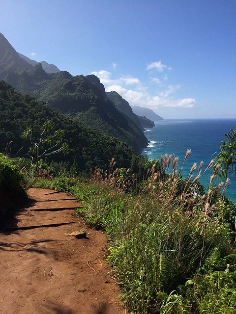 Na Pali coast view
