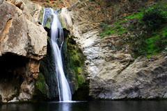 Untitled (robbymack24) Tags: park longexposure cliff lake water waterfall timelapse pond long exposure paradise desert time canyon falls lapse paradisefalls