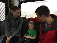 "Paul with Mommy and Uncle Davy on a Bus in St. Louis • <a style=""font-size:0.8em;"" href=""http://www.flickr.com/photos/109120354@N07/25445146574/"" target=""_blank"">View on Flickr</a>"