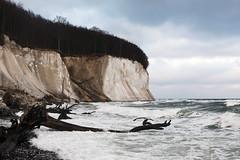 Kreidefelsen bei Sassnitz (christianmoser89) Tags: sea coast baltic rgen ostsee kste kreidefelsen sassnitz