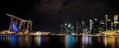 Singapore city view (simon.mccabe.5) Tags: world city holiday night marina bay singapore sands scape refelection