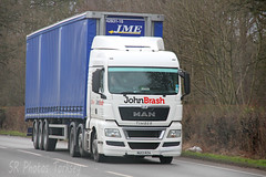 MAN John Brash Timber NU13 RZA (SR Photos Torksey) Tags: road man truck john transport lorry commercial vehicle freight logistics brash haulage hgv lgv