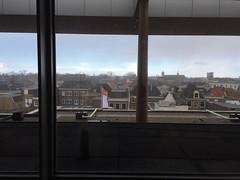 Rear Window: Fries Museum (kalikali) Tags: art netherlands museum fries nl museums leeuwarden friesmuseum frieslandnl artmuseumsinthenetherlands