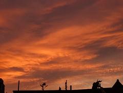 Saturday Sunrise (Climate_Stillz) Tags: morning sky london clouds sunrise saturday goodmorning pinksky southlondon pinkclouds skyart colouredsky skyatsunrise skycanvas tz60