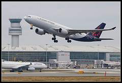 Inaugural flight to Toronto; OO-SFY Brussels Airlines Airbus A330-200 (Tom Podolec) Tags:  way this all image may any used rights be without reserved permission prior 2015news46mississaugaontariocanadatorontopearsoninternationalairporttorontopearson