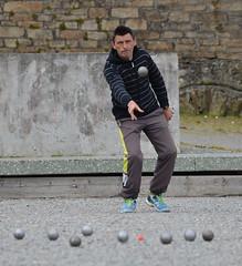 The Throw (alderney boy) Tags: terrain game ball jack bretagne competition sphere brest boules ptanque cochonnet