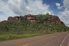 Nourlangie Rock (cathm2) Tags: travel trees green nature rock nationalpark nt australia kakadu northernterritory nourlangie wetseason