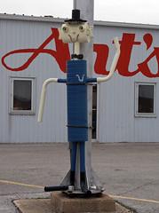 OH Celina - Pipe Creature (scottamus) Tags: ohio vent robot celina pipe creature muffler mercercounty artsmufflertire