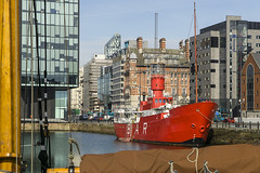 Canning Dock (l4ts) Tags: liverpool landscape lightship merseyside capitalofculture rivermersey portofliverpool canningdock mannisland merseyplanet