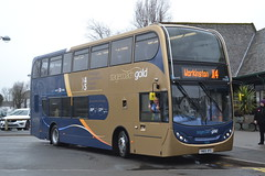 Stagecoach Cumbria & North Lancashire 15224 YN65XFE (Will Swain) Tags: county uk travel england lake west bus buses gold march town britain district country north transport lakes lancashire vehicles cumbria vehicle seen 24th keswick stagecoach x4 x5 2016 15224 yn65xfe