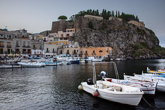 Historic Harbour of Lipari