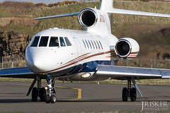 N770JD | Dassault Falcon 50 | Isle of Man (EGNS/IOM) (Joshua_Risker) Tags: usa man plane airport aviation jet business falcon planes airways biz 50 airlines isle iom dassault trijet planespotting bizjet planespotter fa50 ronaldsway nreg egns n770jd