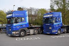 Metcalfe Farms Scania Topline Low Loaders (5asideHero) Tags: low farms met loader metcalfe s70 scania topline r90