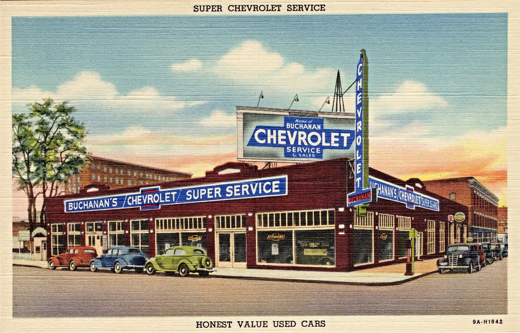 Ford Dealership Spokane >> The World's Best Photos of postcard and showroom - Flickr Hive Mind
