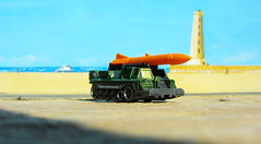 Matchbox Toys MBX HEROIC RESCUE Attack Track 2015 : Diorama The Beach And Lighthouse - 9 Of 25 (Kelvin64) Tags: rescue lighthouse beach toys track attack and diorama heroic matchbox the 2015 mbx