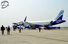 Before Boarding ! IndiGo A320 VT-IFS (Dipalay) Tags: ramp indigo boarding a320 tripura agartala indigoairlines agartalaairport a320232wl vtifs