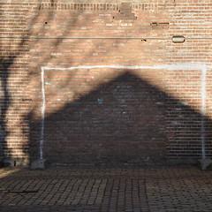 Playground (w.eras) Tags: light urban house playground wall goal shadows bricks scape dsc3733