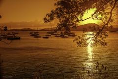 Follow The Path - Sigue El Sendero (Bernai Velarde-Light Seeker) Tags: ocean sunset sea sun sol america boats atardecer botes mar pacific centro central panama ocaso pacifico yates oceano velarde bernai