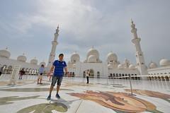 Day time in Abu Dhabi (Boszanova_EK) Tags: travel travelling nikon dubai uae emirates abudhabi dxb auh nazwa nikonphotographer sheikhzayedmosque nikonthailand iamnikon nikond610