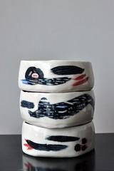 DSC_9722 (joone!) Tags: ceramics pottery handbuilt handpainted handmade bowl porcelain handbuild