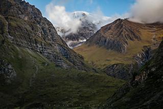 Looking Through The Peaks