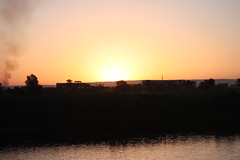 Sunset at River Nile - Egypt (Ferdous Firoz Amin) Tags: egypt nile aswan edfu