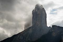 Mont Aiguille (erwannf) Tags: mountain france alps weather montagne alpes nuages vercors mto rhnealpes montaiguille