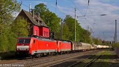 Pair of 189s to Kijfhoek at Ratingen Lintorf (37001 overseas) Tags: db ez ratingen dbcargo gremberg kijfhoek 45722 lintorf dbschenker 189068 189067 ratingenlintorf
