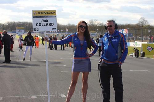 Rob Collard during the BTCC Weekend at Donington Park, April 2016