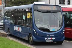 Diamond Wright Streetlite 20982 (BP60 XCW) (Tividale) (john-s-91) Tags: diamond erdington route25 20982 wrightstreetlite bp60xcw