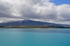 cloud over lake tekapo [EXPLORED] (wirsindfrei) Tags: newzealand sky cloud sun lake clouds landscape nikon colours canterbury laketekapo neuseeland tekapo explored nikond60