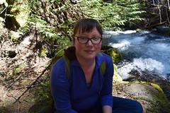 Hiking me (Catgirrrl) Tags: water oregon hike april mounthood 2016 tamanawasfalls