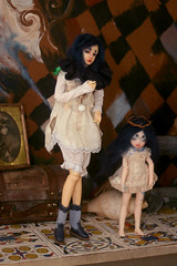 Unintentional Brothers (Blue Kitsune) Tags: bjd 16 kimmy didi bluefairy pocketfairy littlekimmy souldoll fashionsize