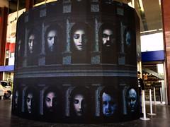Megaschermo Game Of Thrones Roma (Roberto Carraro) Tags: roma termini il di spade trono