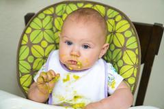 9 (justinmilburn) Tags: portrait baby avocado sony 35mm18 a6300