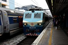 China Railway SS8 0173, Kowloon Tong (Hong Kong) (Howard_Pulling) Tags: camera train hongkong photo nikon photos picture zug trains april bahn mtr 2016 howardpulling d5100