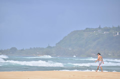 HWI_1035 (Ikuhito) Tags: ocean blue cloud beach hawaii oahu wave northshore