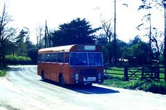 Slide 056-90 (Steve Guess) Tags: uk red england bus bristol hampshire gb lh basingstoke ecw alresford hants candover hantsdorset venturebus