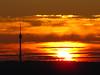 Stuttgarter TV-Tower at Sunset (Habub3) Tags: christmas sunset canon germany weihnachten deutschland stuttgart powershot fernsehturm abendrot g12 2015 habub3