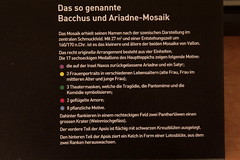 Mosaik Bacchus und Ariana ( Kleines Mosaik - mosaque - mosaico - mosaic - Entstanden um 160 - 170 n. Chr. ) in einer gallo - rmischen Villa am Fundort ausgestellt im rmischen Museum in Vallon im Kanton Freiburg der Schweiz (chrchr_75) Tags: history schweiz switzerland suisse suiza swiss mosaic mosaico ruine sua christoph svizzera romain reich sveits januar ruinen rmer mosaque geschichte sviss romanum mosaik zwitserland sveitsi 2016 suissa mosaiken mozaek rmische imperium  szwajcaria  rmisches hurni helvetien helvetier albumrmerinderschweiz chriguhurnibluemailch albumrmischemosaikenderschweiz hurni160107