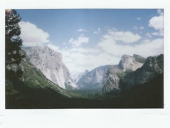 The valley (kristen cynthia) Tags: nature landscape nationalpark scenery hike valley yosemite instantphotography fujifilminstax