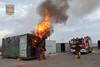 Curso de flashover y backdraft (Cuerpo de Bomberos de Zaragoza) Tags: zaragoza fuego bomberos curso backdraft emergencia flashover cuerpodebomberosdezaragoza