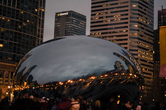 (GustavoZagonel) Tags: chicago us illinois unitedstates cloudgate thebeam