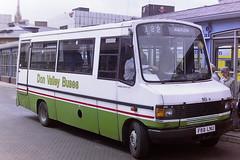SOUTH YORKSHIRE TRANSPORT - DON VALLEY BUSES 169 F69LNU (bobbyblack51) Tags: nottingham bus phoenix buses station mercedes benz south sheffield yorkshire transport 1996 valley don 169 skill bodywork 709d f69lnu