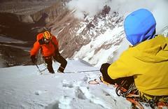 Kunyang Chhish East, 7400 mt (Mattia Camellini) Tags: pakistan mountain nature natura karakoram arrampicata alpinism simonanthamatten mattiacamellini messnermountainmuseumcorones kunyangchhisheast hansjrgauer matthiasauer